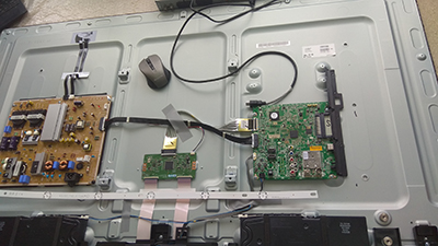 ремонт замена тюнера телевизора телемастер выезд на дом
