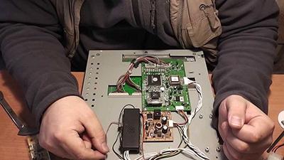 замена инвертора монитора мастер выезд на дом