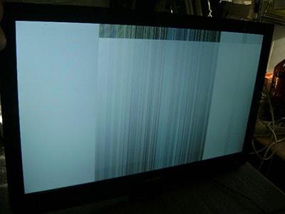полосы на экране телевизора телемастер выезд на дом